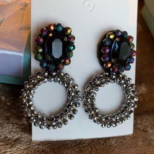 Solstice Statement Earrings Multicolor